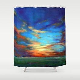 Sunset in the Heartland Shower Curtain