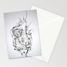 Divine Mother Moon Earth Stationery Cards