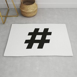 #hashtag Rug