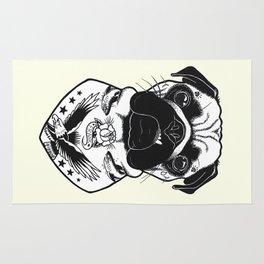 Dog - Tattooed Pug Rug