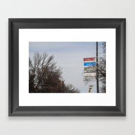 Rue Cuvillier Framed Art Print