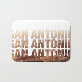 San Antonio Landscape Bath Mat
