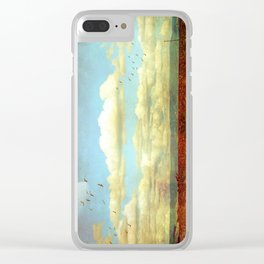 The Wide Open Road Clear iPhone Case