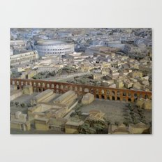 Rome in the Time of Constantine2 Canvas Print