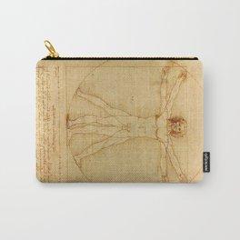 Leonardo da Vinci - Vitruvian Man Carry-All Pouch