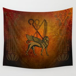 Egyptian sign Wall Tapestry