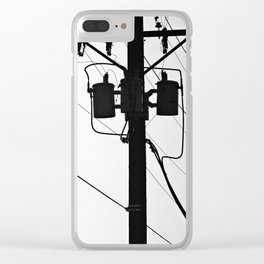 Wired II Clear iPhone Case