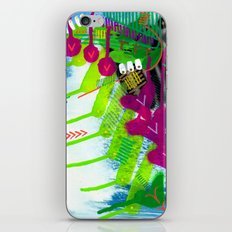 Wave pink iPhone & iPod Skin