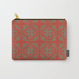OrangeGreen Tile Carry-All Pouch