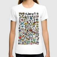 the 100 T-shirts featuring 100 things by Michelle Behar
