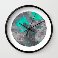 lord of the ring Wall Clocks featuring Ring by Kowalcik