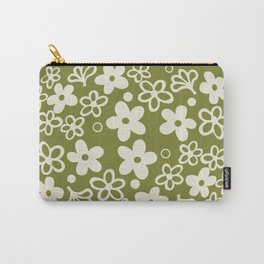 Spring Blossom Pattern Carry-All Pouch
