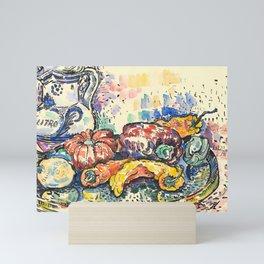 "Paul Signac ""Still Life with Jug"" Mini Art Print"