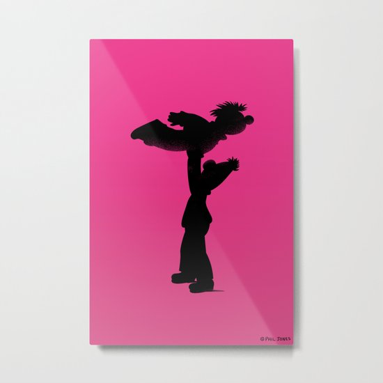 Roomie Dancing Metal Print