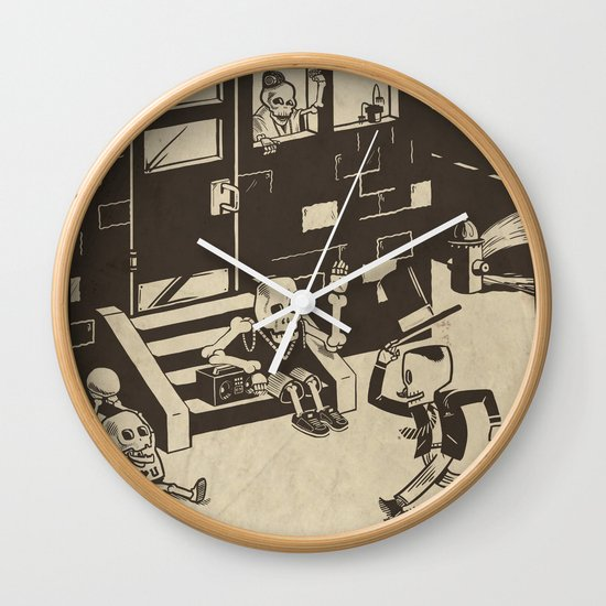 Shed Some Skin Wall Clock