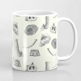 African Elephant Nature Study Coffee Mug