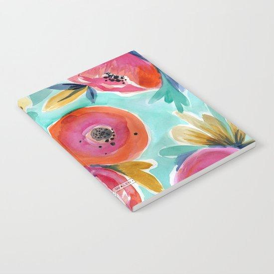 Rain Flower Notebook