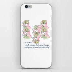 Shabby Chic Designs Pretty Teacups iPhone & iPod Skin