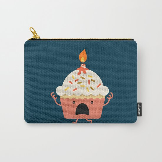 Cupcake on fire Carry-All Pouch