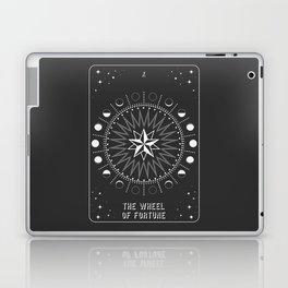 Minimal Tarot Deck The Wheel of Fortune Laptop & iPad Skin