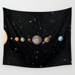 Planetary Solar System Wall Tapestry