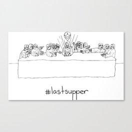 #lastsupper Canvas Print