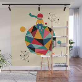 Lonely planet Wall Mural