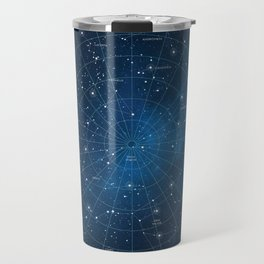 Constellation Star Chart Travel Mug