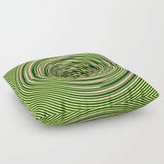 Warped Rings Floor Pillow