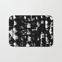 Black pattern#1 Bath Mat