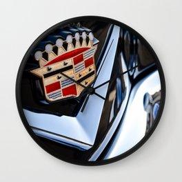 Caddy Emblem Wall Clock