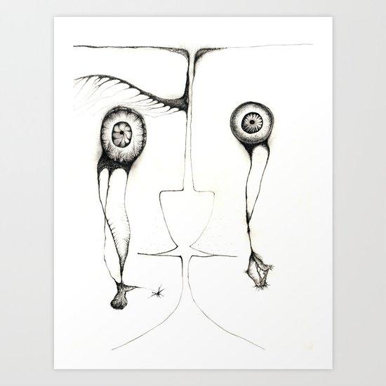 Fales mirror Art Print