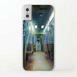 Ghost Train Clear iPhone Case