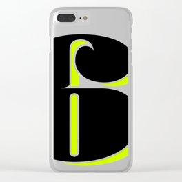 Super Fat 6 Clear iPhone Case