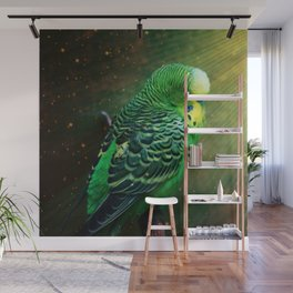 Budgie Wall Mural