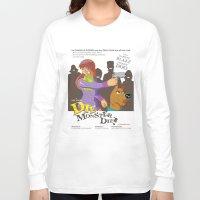 monster inc Long Sleeve T-shirts featuring Mystery Inc. (Die Monster Die! Variant) by William Vega