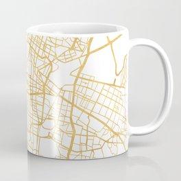 MEXICO CITY MEXICO CITY STREET MAP ART Coffee Mug