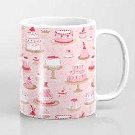 Retro Rococo Cakes Coffee Mug