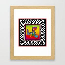 FRAMED PETER MAX Framed Art Print