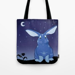 Bunny Blues Tote Bag