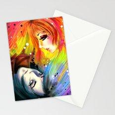 RAINBOW AND NIGHT Stationery Cards