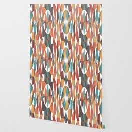 Colorful geometric abstract Wallpaper