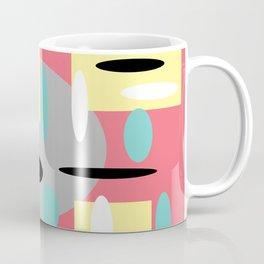 Random Retro Coral Coffee Mug