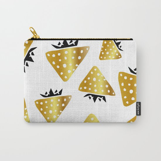 strawberry gold Carry-All Pouch
