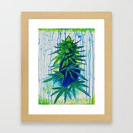 Rainy Day Kush Framed Art Print