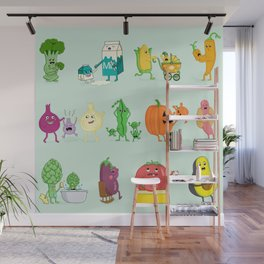 Baby Veggies Wall Mural