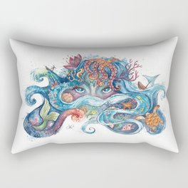 SEA NYMPH Rectangular Pillow
