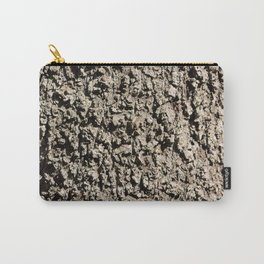 TEXTURES -- Western Sycamore Bark Carry-All Pouch