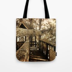 Old Love Story Tote Bag