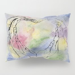 We Share One Heart Pillow Sham